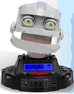 design success - you wont fall asleep with this alarm clock near you!
