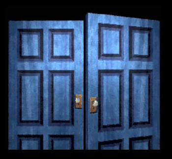 Resident Evil Door
