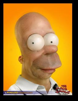 Uncanny Homer