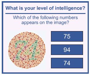 colourblind test