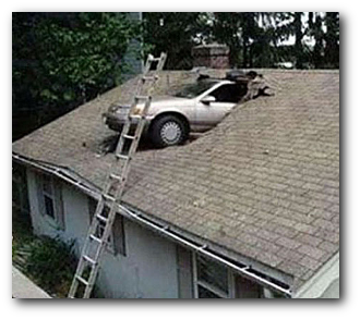 Car crash roof
