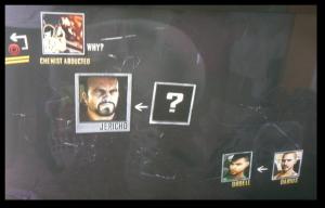 The investigation screen