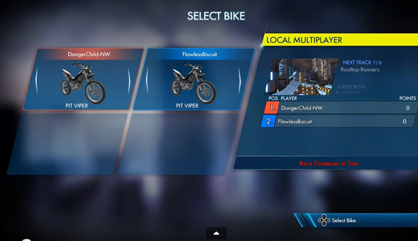 Bike Selection
