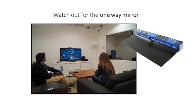 Another Common Issue With Uity Labs Is That They Often Have 1 Way Mirrors Returning To The Test We Saw Earlier Can See From Other Angle