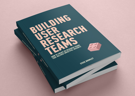 Building User Research Teams